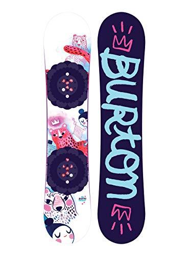 Burton Chicklet - Tabla de Snowboard para niña, Niñas, 10734104000, sin Color, 120