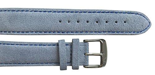 UHRTRACHT - Wechselarmband Wildleder mit Silber, Verschiedene Varianten mit Quick Release - passend