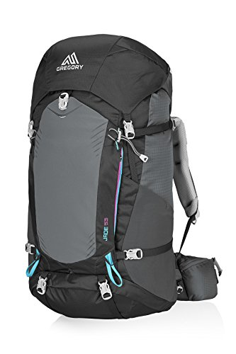 Gregory Mountain Products Jade 53 Liter Women's Backpack Dark Charcoal Small