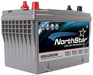 NorthStar NSB-AGM34M AGM HD Marine Battery 880 CCA