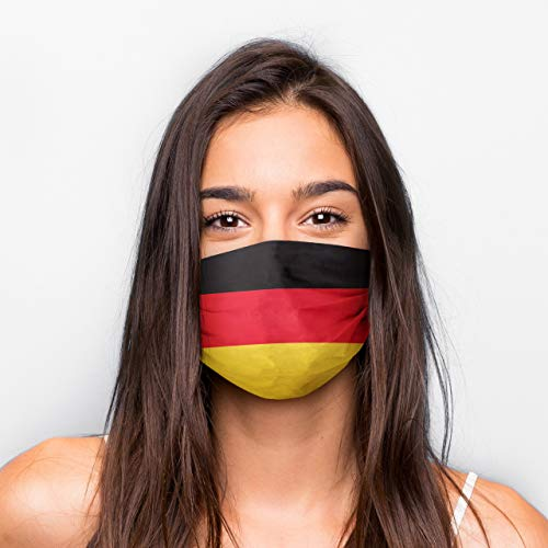 Generisch Kultmasken Mund Nasen Maske Deutschland Fahne