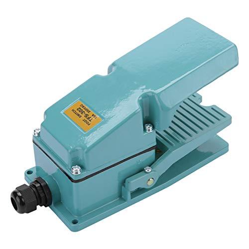Interruptor de pedal TFS-302, interruptor de pedal momentáneo interruptor de pedal eléctrico...