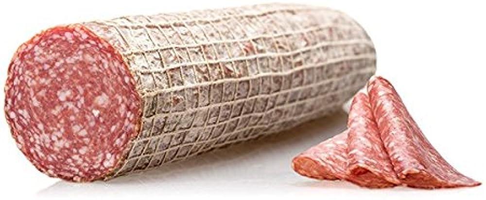 Salumi pasini salame milano intero stagionato 100% carne italiana senza glutine e lattosio 1 3 kg