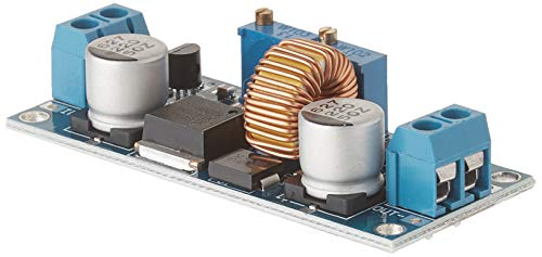 DROK 091016 DC-DC Buck Converter 4-38V Step-down Voltage Regulator Module Adjustable Current 5A Max 75W High Power Volt Power Supply Transformer Board with Constant Current & Voltage