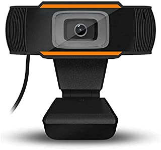 HD 1080P Webcam, Widescreen Video Calling and Recording, USB Camera Built-in Microphones, Desktop or Laptop Webcam