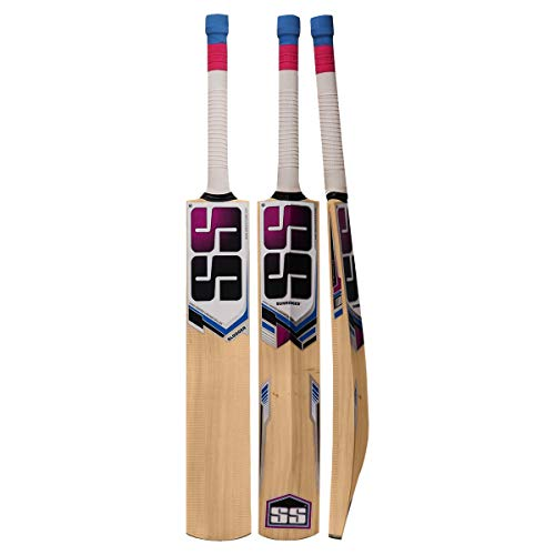 SS Slogger Kashmir Willow Cricket Bat with Bat Cover