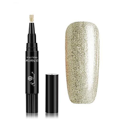 Pamura - LACKY - Nagellack - Stiftform - Nagellackstift - UV Nagellack - Viele Farben (Starlight)