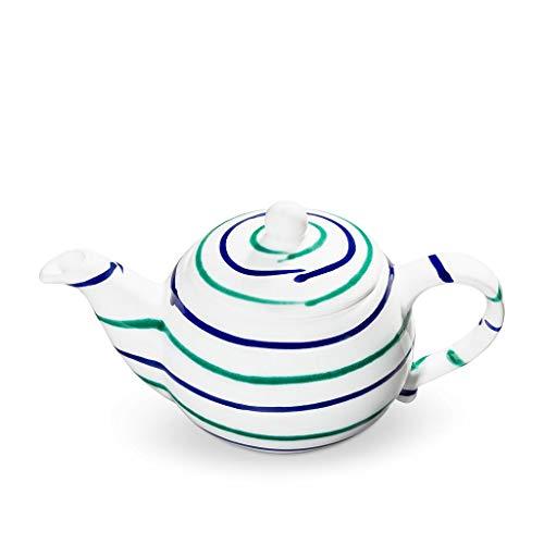 GMUNDNER KERAMIK Teekanne glatt Füllmenge : 0.5 Liter Traunsee Geschirr, handgemacht in Österreich