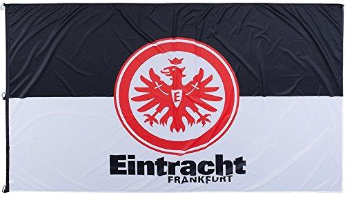 Hissflagge Eintracht Frankfurt Classic - 150 x 250 cm + gratis Aufkleber, Flaggenfritze®