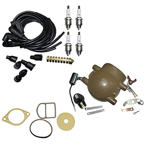 Aftermarket Ignition Tune Up Kit for Ford 9N 2N & 8N Tractors with Front Mount Distributor