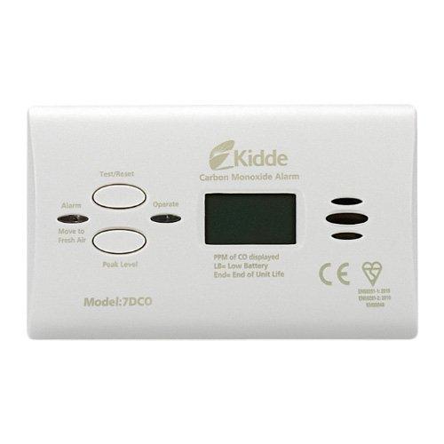 Kidde – Détecteur de monoxyde de carbone avec affichage numérique - 7DCOC