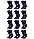 Tommy Hilfiger Herren Classic Business Socken 371111 12Paar, Farbe:Blau;Sockengröße:47-49;Artikel:Socken dark navy 371111-322