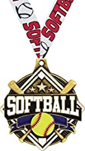 softball medals free shipping