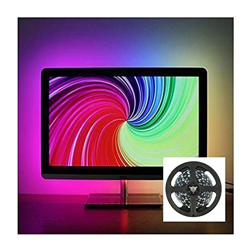TV LED Luz Strips DIY Ambient TV PC Pantalla de Dream Screen Control Smart Color Cambiando USB LED Strip PC Pantalla Pantalla Retroiluminación Iluminación RGB LED Barra Luz para la Cocina TV Cocina DI