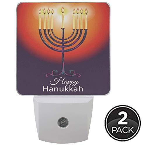 Kwanzaa Kerze Regenbogen Nachtlicht Plug-In Set von 1 Jungen Mädchen Babys Jüdische Kerze Regenbogen Nachtlichter Auto Motion Senor
