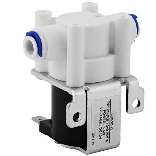 DC12V 1/4 Zoll Magnetventil,Jectse 0-0,8Mpa Elektrisch Wasser Ventil Wasserventil mit Reinkupferspule,für Wasserreiniger
