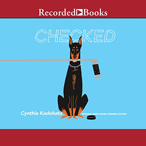 Checked audiobook cover art