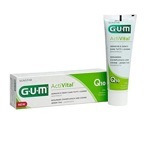 GUM Activital Zahnpasta 75ml, 3er Pack (3x 75ml)