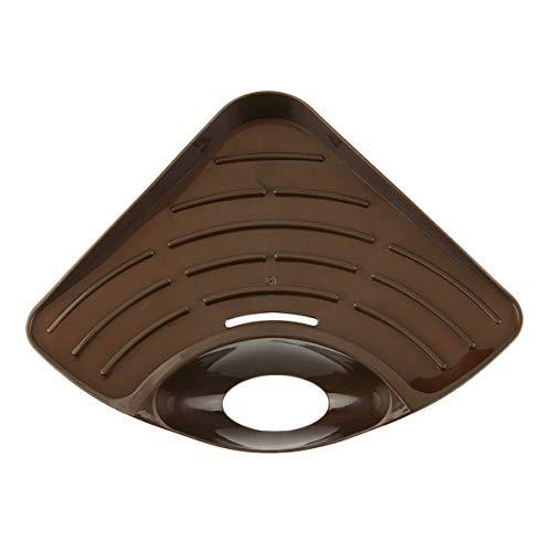 Heaviesk Diseño Moderno Inicio Cocina Fregadero Esquina Estante de Almacenamiento Color sólido...