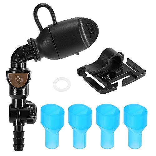 Lixada Hydration Vessie Bait Valve Pack D'hydratation Remplacement Bouteille D'aspiration Buse Vessie Clip De Tube