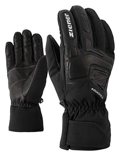 Ziener Erwachsene GLYXUS AS(R) Glove Alpine Ski-handschuhe/Wintersport | Wasserdicht, Atmungsaktiv, , schwarz (black), 8