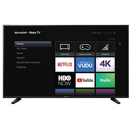 """LYTIO Sharp 58"""" ROKU TV 4K Televisión Inteligente UltraHD HDR WiFi mas de 60 apps como Netflix Youtube…"""