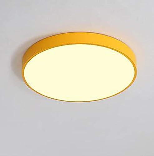 JIUHommesG 18W rond LED imperméable économie d'énergie Plafonnier moderne Naturel Applicable à la salle de bain la chambre la cuisine et le couloir Plafonnier,Lampe plafond