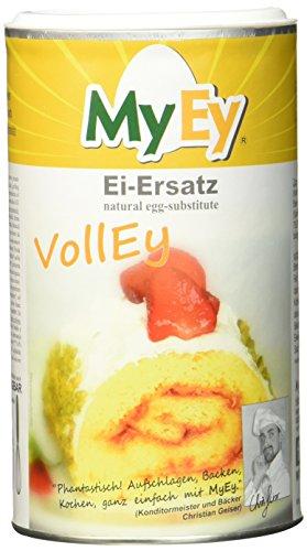 MyEy VollEy Ei-Ersatz, natürlich & voll aufschlagbar, universell einsetzbar, lactosefrei & vegan (1 x 200 g)