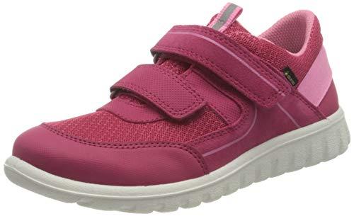 Superfit SPORT7 Mini Gore-TexSneaker Lauflernschuh, ROT/ROSA, 30 EU