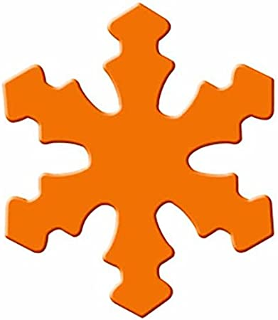URSUS 19480028/Shape Orange Craft Punch Perforatrice pour activit/és manuelles