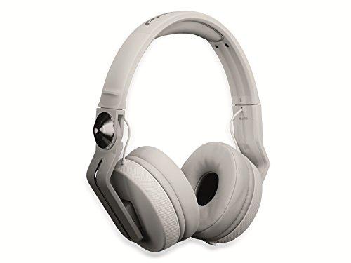 Pioneer HDJ-700 Negro, Color blanco Circumaural Diadema auricular - Auriculares (Circumaural, Diadema, Alámbrico, 5-28000 Hz, 1,2 m, Negro, Blanco)