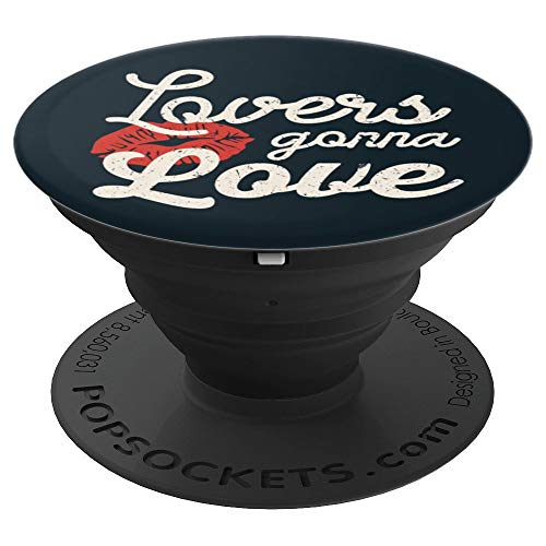 Lovers Gonna Love Valentines Day Cupids XOXO Be Mine PopSockets Grip and Stand for Phones and Tablets