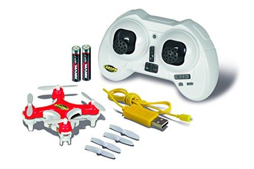 Carson 500507107 – X4 Quadcopter Nano Spy 100% RTF Rouge