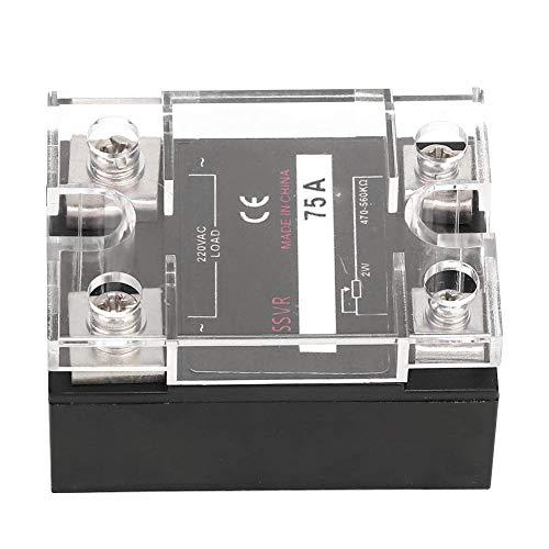 Weikeya Regulador de Voltaje de Estado sólido ignífugo, ≥2500vac Hecho de plástico y Aluminio 10A / 25A / 40A / 60A / 75A / 80A / 100A ≤10mA