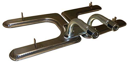 Music City Metals 19102-79202 Edelstahl-Brennereinheit für Gasgrills der Marke Fiesta - Silberfarben