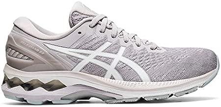 ASICS Women's Gel-Kayano 27 Running Shoes, 8M, Haze/White