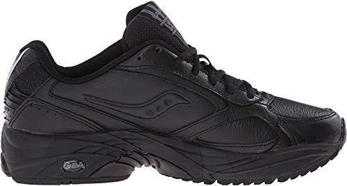 Saucony Men's Grid Omni Walking Shoe,Black,11 W