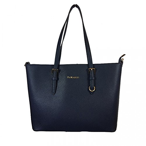 Flora & Co schoudertas shopper tas dames zwart handtas schoudertas