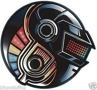 MFX Design Daft Punk Sticker Decal Vinyl - Made in USA 3 in. Round
