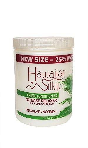 Hawaiian Silky no base relaxer, regular, White