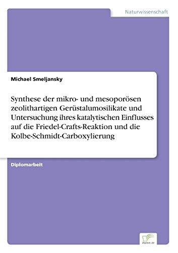 Synthese der mikro- und mesoporösen zeolithartigen Gerüstalumosilikate und Untersuchung ihres katalytischen Einflusses auf die Friedel-Crafts-Reaktion und die Kolbe-Schmidt-Carboxylierung