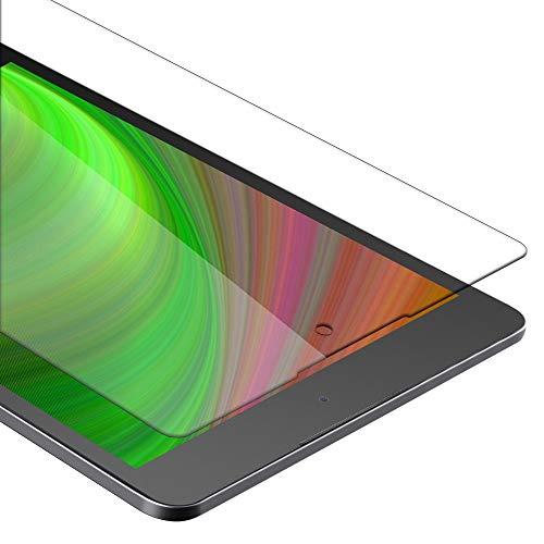 Cadorabo Panzer Folie für HTC Google Nexus 9 - Schutzfolie in KRISTALL KLAR - Gehärtetes (Tempered) Bildschirm-Schutzglas in 9H Festigkeit mit 3D Touch Kompatibilität