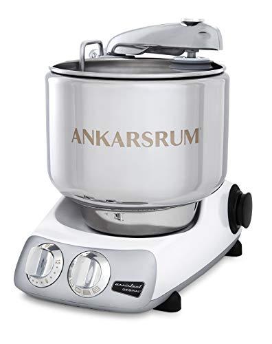 Ankarsrum Stainless Steel Original 7 Liter Stand Mixer