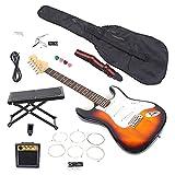 Juego De Guitarras Eléctricas, 22 Guitarras Trémolo Sicomoro De 1 Vía Con Traste De Níquel Y Cobre Para El Aprendizaje Musical Para La Interpretación En El Escenario