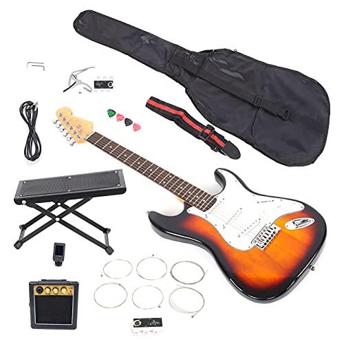 Juego De Guitarra Eléctrica, Puente De Péndulo único, Guitarras De Sicomoro, Marcas De Trastes, Diseño De Cuello En Forma De C Para Principiantes, Para Aprender Música, Para Presentaciones