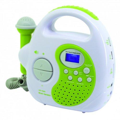 Soundmaster KR36GR - Radio (Portátil, Digital, FM, Verde, 19,2 cm, 6 cm)