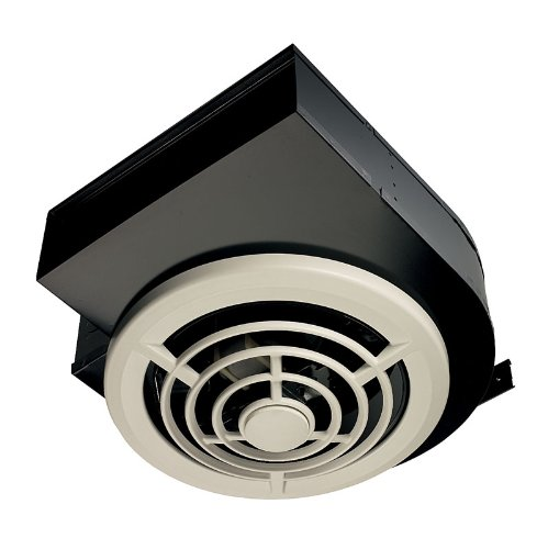 """Broan-Nutone 8310 Side Discharge Ventilation Fan, Ceiling or Wall Exhaust Fan for Kitchen and Home, 5.0 Sones, 160 CFM , White , 3-1/4"""" x 10"""""""