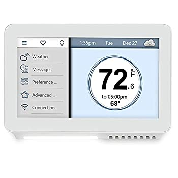 Vine Wi-Fi 7day & 8 period Programmable Smart Home Thermostat - Wi-Fi TJ-919 Compatible with Alexa & Google Assistant