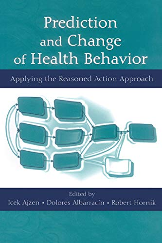 41dE38 SuTL - Prediction and Change of Health Behavior: Applying the Reasoned Action Approach