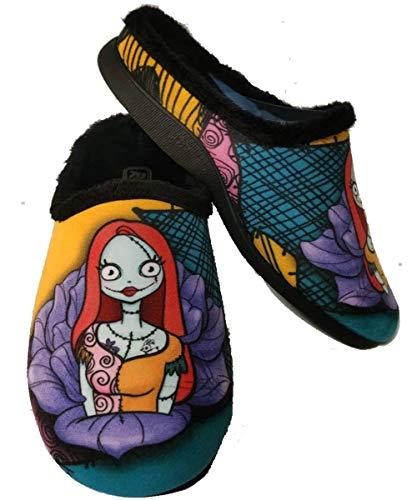Zapatillas Sally Pesadilla Navidad Andar por casa Mujer - Fan Art by Maria Latorre (Talla 41)